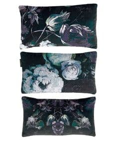 Floralism Moonlit velvet gift/travel cushion